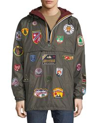 DSquared² - X K-way® Nylon Packable Jacket With Patches - Lyst