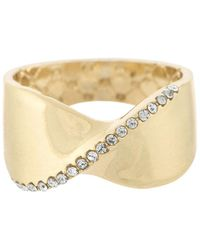 Laundry by Shelli Segal   Twisted Metal Ring   Lyst