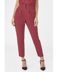 Lavish Lyst Culottes Over Red Alice In Wrap dwv7rxPwq