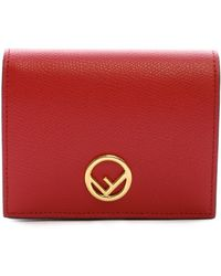 Fendi - Small Logo Wallet - Lyst