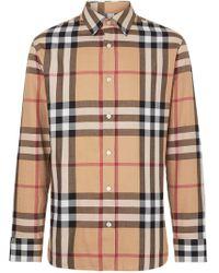 Burberry - Shirt Vintage Check - Lyst