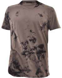 Helmut Lang - T-shirt With Tie-dye - Lyst