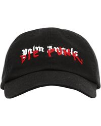 b4800766cdd Lyst - Palm Angels Snapback Cap in Black for Men