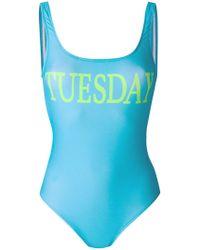 Alberta Ferretti - Tuesday Swimsuit - Lyst