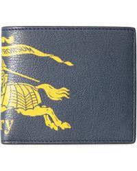 Burberry - Portafoglio Logo a Contrasto - Lyst