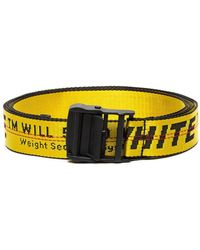 Off-White c/o Virgil Abloh - 25mm Mini Logo Nylon Belt - Lyst