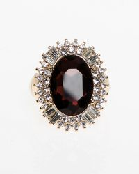 Le Chateau - Gem Stretch Ring - Lyst