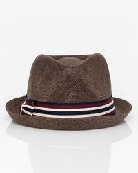 4cdbc490797 Barbisio Woven Straw Panama Hat in White for Men - Lyst