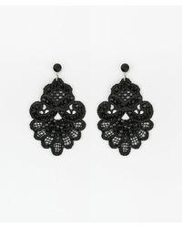 Le Chateau - Beaded Lace Earrings - Lyst