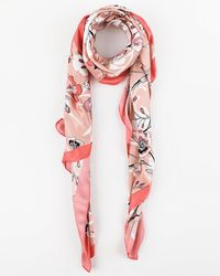 Le Chateau - Floral Print Lightweight Scarf - Lyst