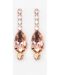 Le Chateau - Gem Drop Earrings - Lyst