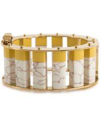 Lele Sadoughi - Stone Column Slider Bracelet - Lyst
