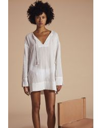 Lemlem | The Essential Tunic - White | Lyst