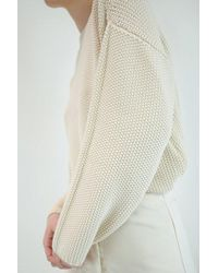 Micaela Greg - Seed Sweater | Cream - Lyst