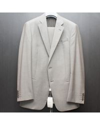 Armani | Light Grey Wool Suit | Lyst