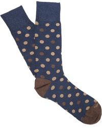 Etiquette - Mix Polka Dot Socks - Lyst