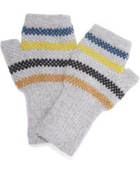 Quinton-chadwick - Knitted Fingerless Gloves - Lyst