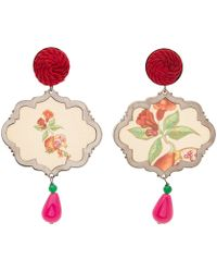 Anna E Alex - Burnished Silver Passementerie Persia Marco Polo Earrings - Lyst