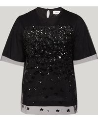 MUVEIL - Embellished Top - Lyst