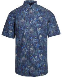 Liberty - Jungle Tapestry Poplin Short Sleeve Men's Shirt - Lyst