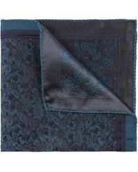 Liberty - Amber Fields Silk Jacquard Pocket Square - Lyst