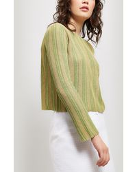 Paloma Wool Ciudad Scoop Neck Stripe Knit