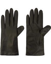 Portolano - Small Basic Leather Gloves - Lyst