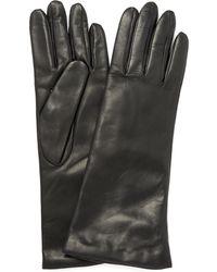 Portolano - Medium Basic Leather Gloves - Lyst