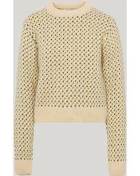YMC - Birdseye Knitted Jumper - Lyst