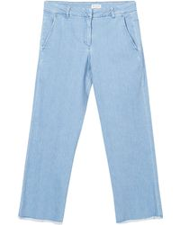 MASSCOB - Denim Fray Jeans - Lyst