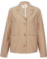 Folk - Natural Short Jacket - Lyst