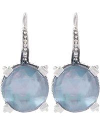 Stephen Dweck - Silver Hematite Gemstone Drop Earrings - Lyst
