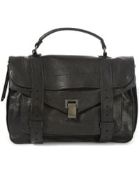 Proenza Schouler - Medium Ps1 Leather Satchel - Lyst