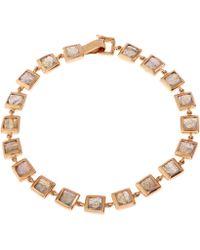 Nak Armstrong - Rose Gold Labradorite Bracelet - Lyst