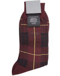 McQ | Tartan Mcqueen Socks | Lyst