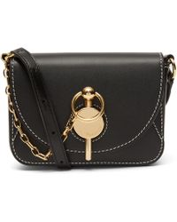 JW Anderson - Nano Keyts Leather Cross-body Bag - Lyst