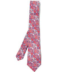 Liberty - Strawberry Thief Silk Tie - Lyst