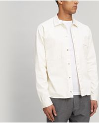 Folk - Angle Pocket Shirt Jacket - Lyst