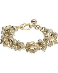 Lulu Frost - Gold-plated Matira Cluster Bracelet - Lyst