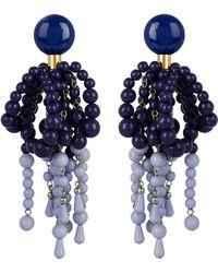 Marni - Oversized Bead Drop Clip-on Earrings - Lyst