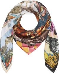 Christian Lacroix - Magic Circus Silk Scarf - Lyst