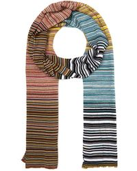 Missoni - Multi-colour Stripe Scarf - Lyst