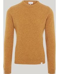 Norse Projects - Sigfred Lambswool Cotton Knit - Lyst
