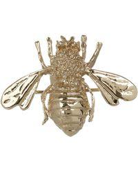 Kojis - Gold Bee Brooch - Lyst