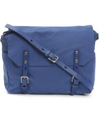 Ally Capellino - Jez Waxy Canvas Messenger Bag - Lyst