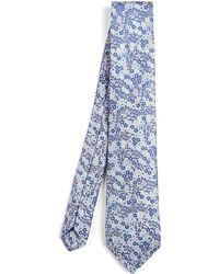Liberty - Wallflower Woven Silk Tie - Lyst