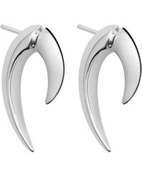 Shaun Leane - Silver Talon Earrings - Lyst