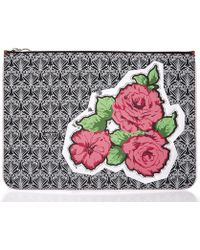 Liberty - Richard Quinn Carline Iphis Large Pouch - Lyst