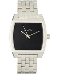 Nixon - Stainless Steel Time Tracker Watch - Lyst