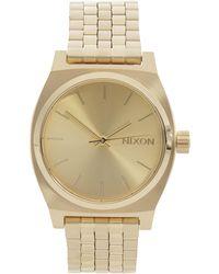 Nixon - Medium Time Teller Watch - Lyst